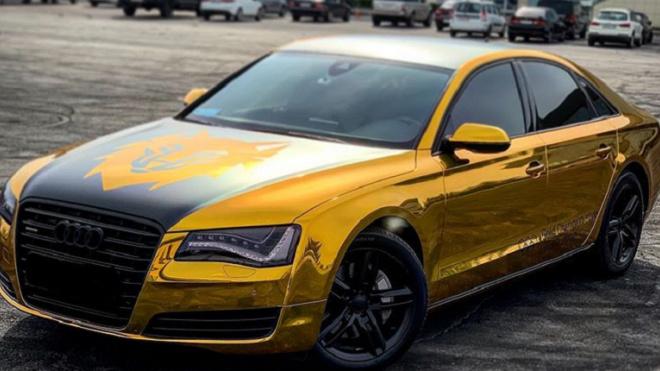 """Из Петровского пруда выловили золотую Audi волейболиста """"Зенита"""""""