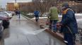 Коммунальные службы начали мыть улицы Северной столицы ...