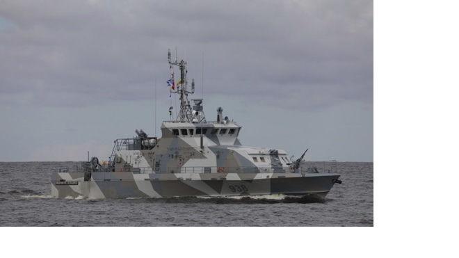 Первая репетиция Главного военно-морского парада прошла в Финском заливе