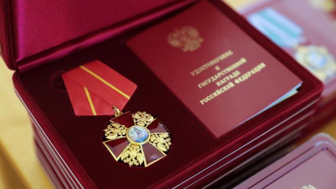 Губернатор вручил государственные награды, ордена и почетные звания