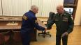 Охранник получил награду за спасение женщины из ледяной ...