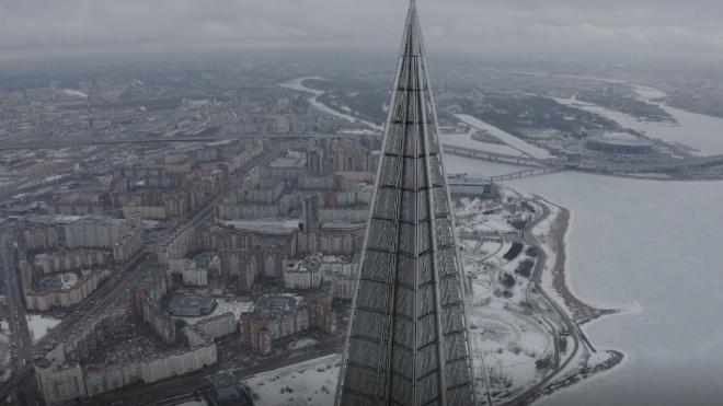 """""""Лахта Центр"""" подключат к дорожной сети Петербурга к ноябрю 2023 года"""