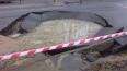 В Невском районе произошло два прорыва теплосети
