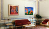 Выставка картин Петрова-Водкина в Константиновском дворце