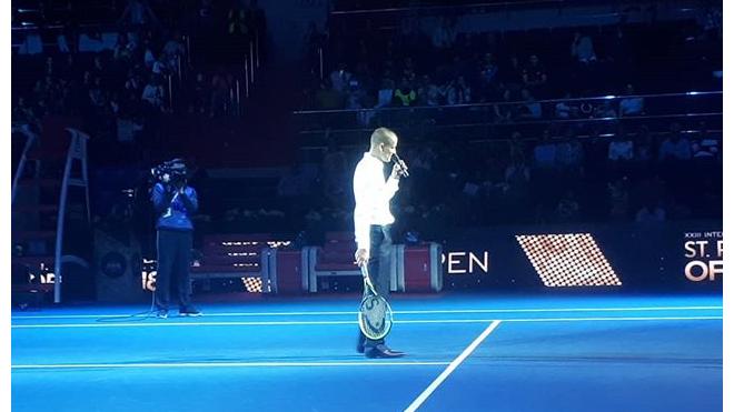 Михаил Южный намерен работать на благо развития тенниса в Петербурге