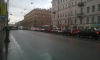 Фотофакт: ужасная пробка на Невском из-за сломанного светофора