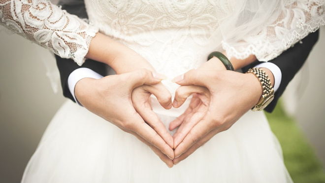 С начала года петербургские ЗАГСы приняли более 5 тысячзаявлений о заключении брака