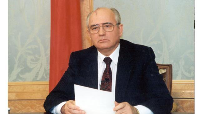 Владимир Путин поздравил Михаила Горбачева с юбилеем