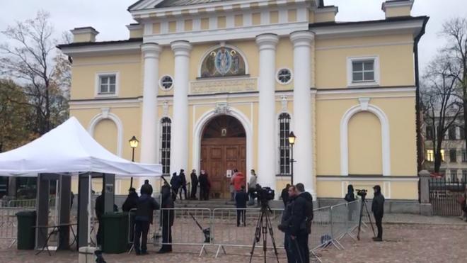 В Выборге простились с погибшим депутатом Александром Петровым