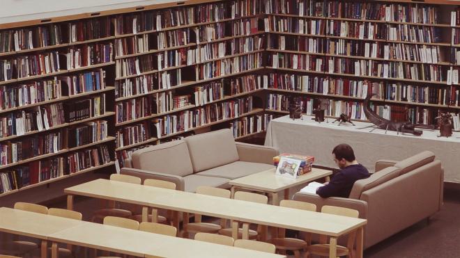 "В библиотеке Алвара Аалто пройдет конкурс ""Пошумим, Товарищи!"""