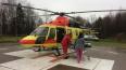 В Ленобласти вертолет санавиации транспортировал трех па...