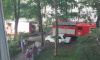 В Невском районе горела квартира в жилом доме