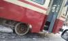 В двух районах Петербурга встали трамваи