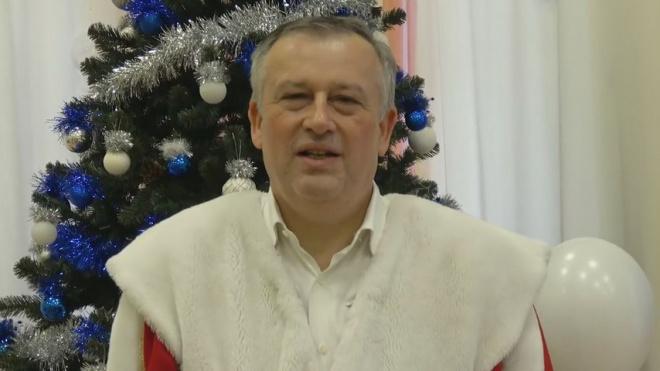 В канун Нового года губернатору Ленобласти Александру Дрозденко отключили свет