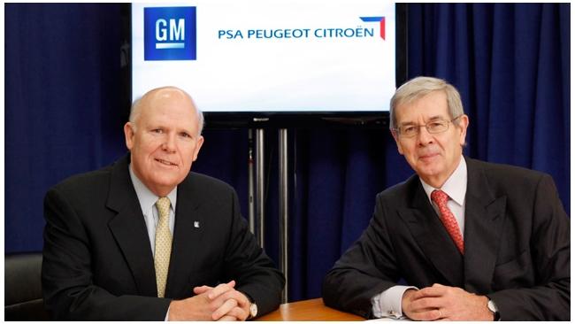 General Motors и PSA Peugeot Citroen объявили о создании альянса