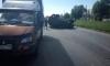 """На Руставели перевернулся """"УАЗ Патриот"""": окровавленного водителя увезли на скорой помощи"""