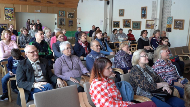 В Выборге отпраздновали 70-летие со дня основания Местного отделения глухих