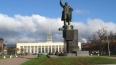 Вандалы осквернили памятник Ленину у Финляндского ...