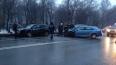На Волковском проспекте не смогли разъехаться три ...