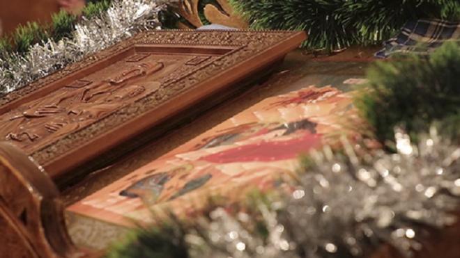 Рождество в Морском соборе Кронштадта встретили военные моряки