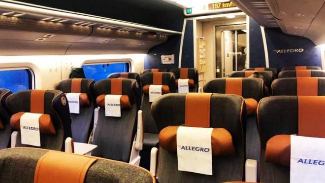 """Поезда """"Аллегро"""" опустели"""