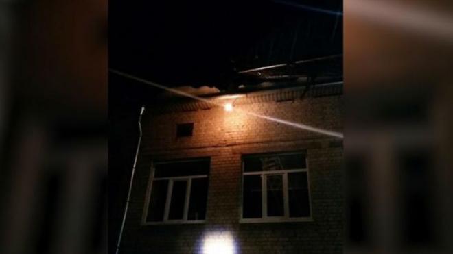 Спасатели в Кировске вовремя успели потушить пожар в школе-интернате