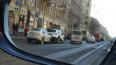 Две машины одного каршеринга столкнулись на Литейном