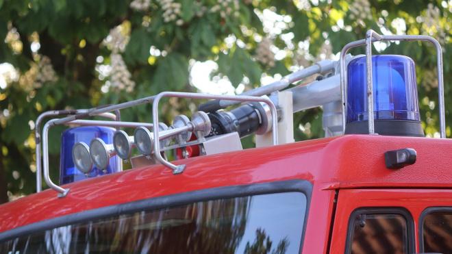 В Выборгском районе пожарные эвакуировали из горящей квартиры пять человек