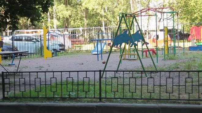 В садах Колпинского района нашли годовалого мальчика, брошенного матерью
