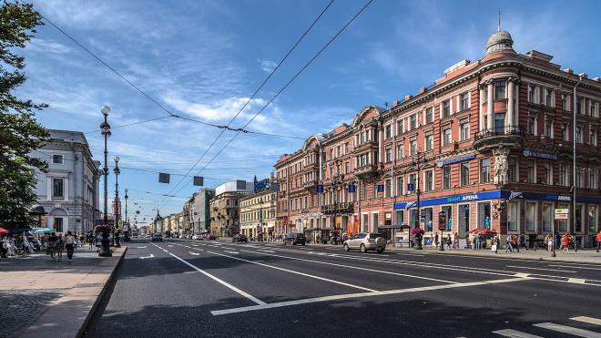 На Невском проспекте модернизируют освещение