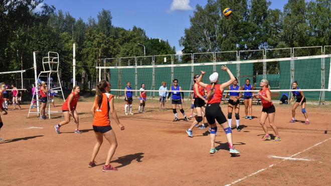 В Выборге прошел XXIX турнир по волейболу, посвященный памяти Михаила Острунского