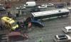 Массовое ДТП на Лиговском: автобус протаранил две легковушки