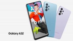 Смартфон Samsung Galaxy A32 вышел на рынок России