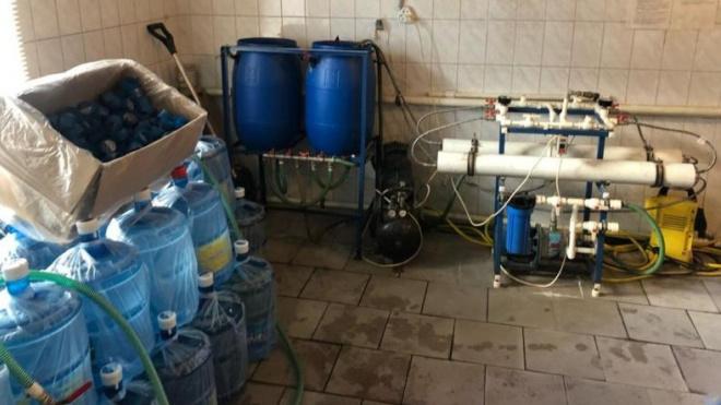 В Петербурге компания производила опасную для жизни питьевую воду