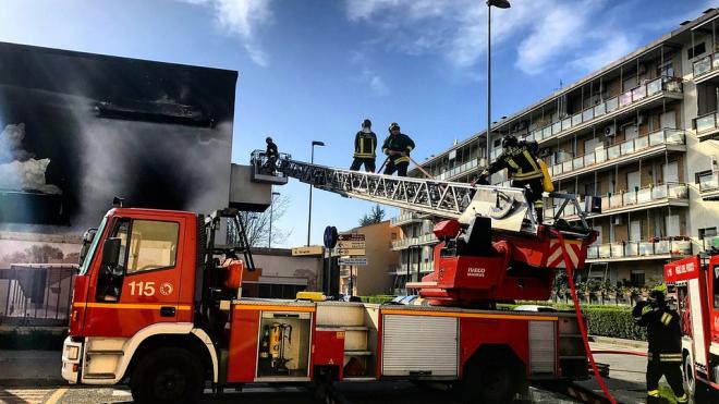 Ночью в Киришах горела квартира на 9 этаже