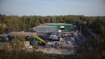 На работы по очистке Пулковского шоссе, 42 от несанкционированных свалок потратят 23 млн. рублей