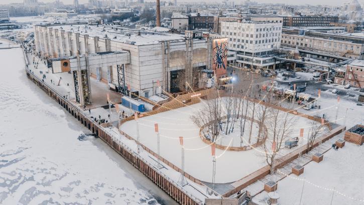 """""""Севкабель Порт"""" предложил создать единую пешеходную зону на бывших промышленных набережных Васильевского острова"""