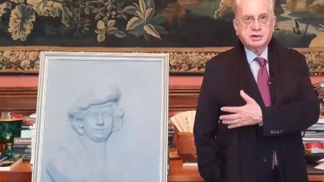 Эрмитаж передал библиотеке для слепых тактильную копию автопортрета Рембрандта