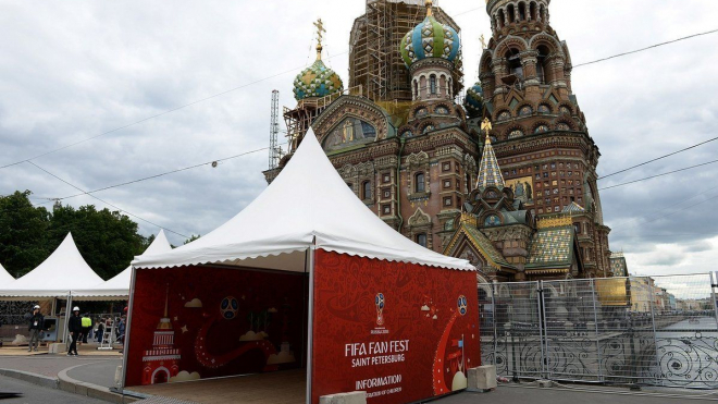 Фан-зона на Конюшенной заняла второе место среди самых любимых у футбольных болельщиков