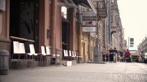 В Петербурге впервые закрывают движение машин по улице Рубинштейна