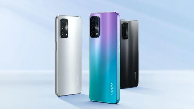 Oppo представила новый смартфон A93 5G
