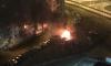 На Пулковском шоссе сгорели две иномарки