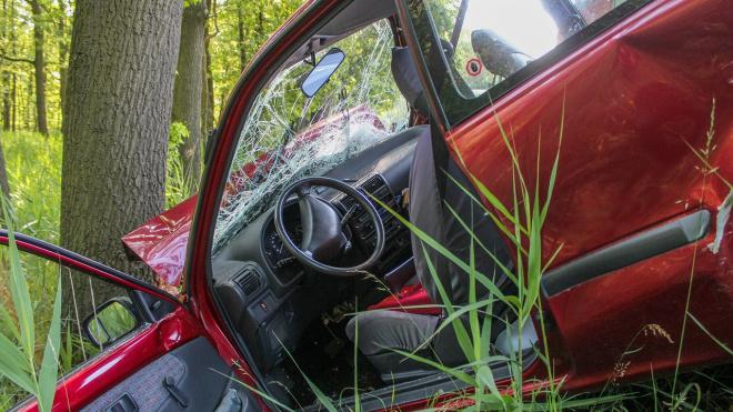 Молодой водитель в Камышовке съехал в кювет и скрылся с места ДТП