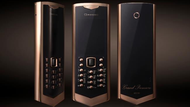 В России создали мобильный телефон, стоимостью $50 тыс.