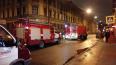 На Боровой улице на пешехода упал горящий мужчина