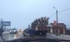 ДТП: под Петербургом отечественный автомобиль протаранил лесовоз