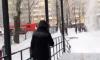 Очевидцы сообщили о пожаре в 180 школе Петербурга