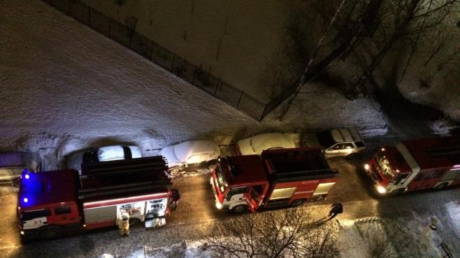 В коммунальной квартире по улице Есенина ночью горел шкаф