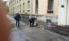 В Петербурге на Севастьянова рухнул балкон