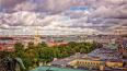 До конца недели в Петербурге будет холодно и дождливо